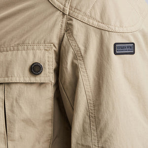 Barbour International-Guard-Casual Jacket-Sandstone-MCA0419SN31 Logo
