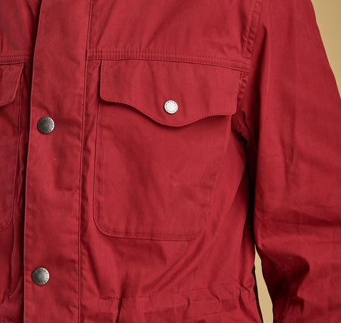 Barbour Skipton- Casual Jacket-Mens Red-MCA0532RE51 utility