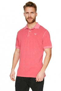 Barbour Polo Shirt-Washed Sports-Fuchia-MML0652PI72 Fuchsia