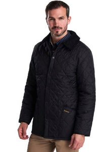 Barbour Quilt-Liddesdale-Black-MQU0001BK91 mens