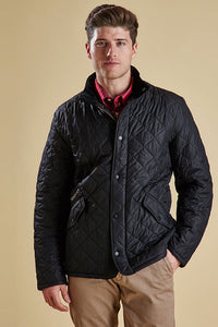 Barbour Chelsea Mens Sportsquilt Jacket in Black MQU0006BK11