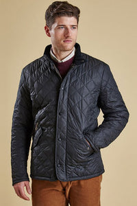 Barbour Chelsea Mens Sportsquilt Jacket in Navy MQU0006NY51