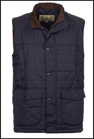 Barbour Gilet in Navy MQU0731NY71