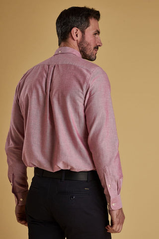 Barbour Shirt-Oxford 3_Tailored Fit-Dusky Pink-MSH4483RE51 back