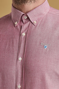Barbour Shirt-Oxford 3_Tailored Fit-Dusky Pink-MSH4483RE51 logo