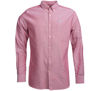 Barbour Shirt-Oxford 3-Tailored Fit-Dusky Pink-MSH4483RE51