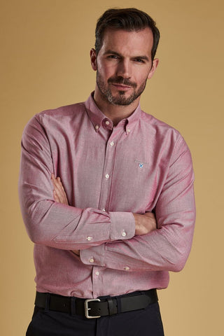 Barbour Shirt-Oxford 3_Tailored Fit-Dusky Pink-MSH4483RE51