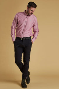 Barbour Shirt-Oxford 3_Tailored Fit-Dusky Pink-MSH4483RE51 dress