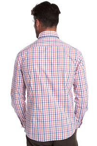 Barbour Shirt-Tattersall15-Tailored Fit-Orange Check-MSH4683OR32 back