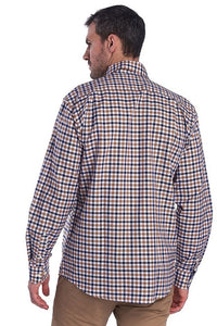 Barbour Shirt-Abberton-Sandstone-MSH4719SN31 back