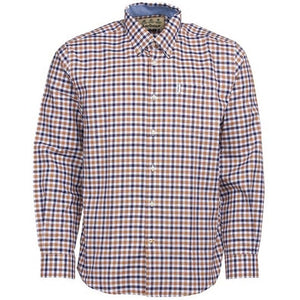 Barbour Shirt-Abberton-Sandstone-MSH4719SN31 check