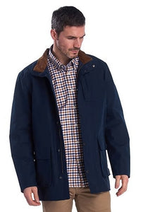 Barbour Shirt-Abberton-Sandstone-MSH4719SN31 cotton