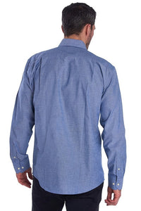 Barbour Shirt-Arnfield-Chamray/Blue-MSH4723BL15 back