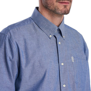 Barbour Shirt-Arnfield-Chamray/Blue-MSH4723BL15 button down collar