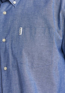 Barbour Shirt-Arnfield-Chamray/Blue-MSH4723BL15 logo