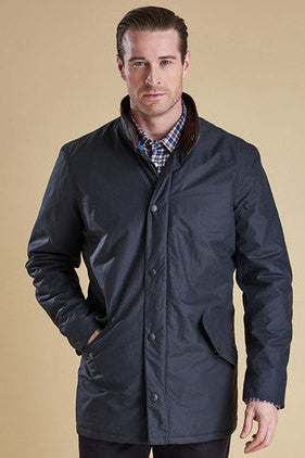 Barbour Hapsford new Waterproof Jacket in Navy MWB0512NY71