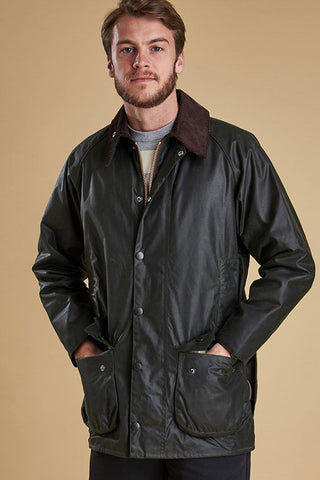Barbour Beaufort  Sage Wax Jacket MWX0017SG91