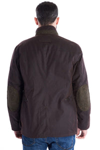 Barbour Brandreth-Wax Jacket-Rustic Brown-MWX1541RU71 back