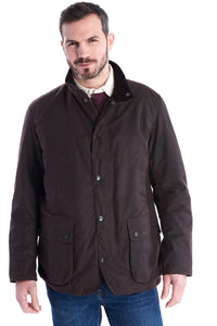 Barbour Brandreth-Wax Jacket-Rustic Brown-MWX1541RU71 front