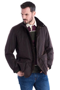 Barbour Brandreth-Wax Jacket-Rustic Brown-MWX1541RU71 casual