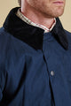Barbour Linton Jacket in stylish Navy MWB0447NY71
