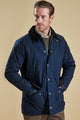 Barbour Linton Jacket in Navy MWB0447NY71