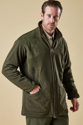 Barbour Dunmoor-Fleece Jacket-Olive Green-MFL0069OL71