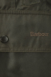 BARBOUR CLASSIC BEADNELL - LADIES WAX JACKET - OLIVE GREEN - LWX0668OL71 - Pocket Detail