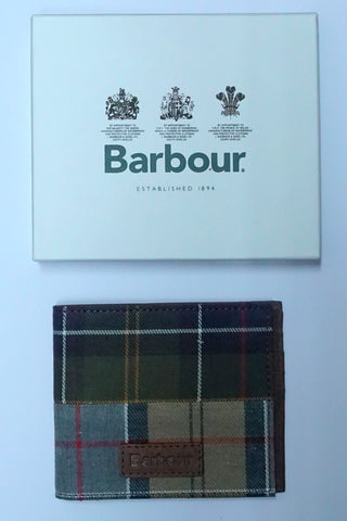 Barbour Wallet-Billfold-Mixed Tartan-MAC0250MI111