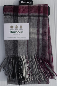 Barbour Scarf-Vintage Winter Plaid-Grey/Juniper-LSC0109GY71