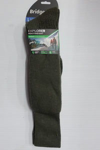 Bridgedale-Socks-Explorer-Heavyweight-Knee Length-Olive/Green--81569