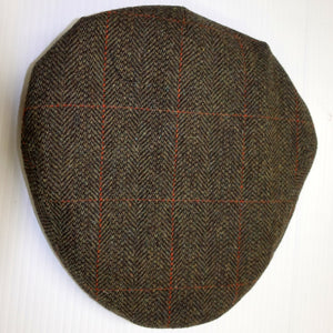 Mens Cap-Tweed Cap-Harewood-Lambswool-Waterproof-HACP GR 2