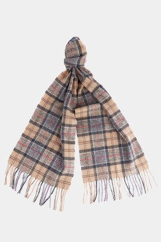 Barbour Tartan Lambswool Scarf - Dress Tartan - USC0001TN31 - Tied View
