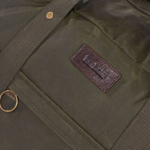 Barbour Holdall-Gamefair Archive Olive -UBA0423OL51 leather