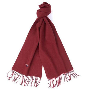 Barbour Scarf-Lambswool Scarf-Cinnamon-USC0008BR71 knot