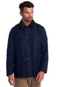 Barbour Ashby-LW Wax Jacket-Indigo/Navy-MWX1377IN51