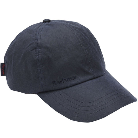 Barbour Cap Baseball Sports in Navy Wax MHA0005NY911