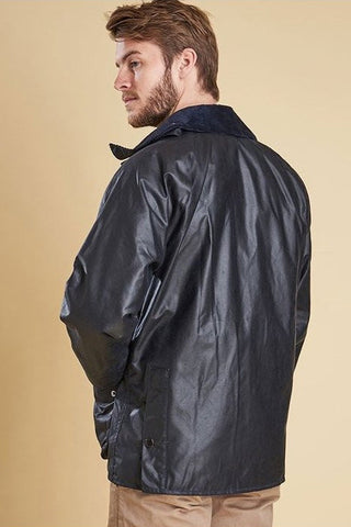 Barbour Bedale wax jacket in Navy MWX0018NY91
