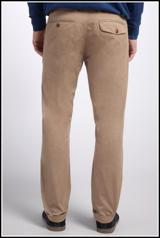 Barbour mens Chino Neuston Twill trousers in Stone MTR0465ST51