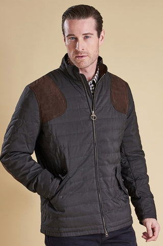 Barbour Bullfinch Quilted Jacket in Black MQU0780BK91