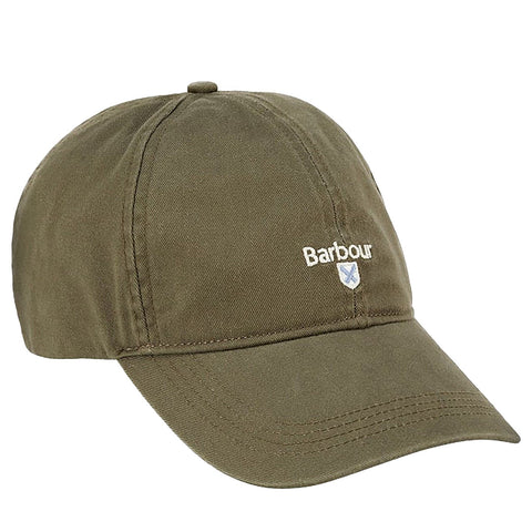 Barbour Cap Baseball Cascade Sports in Olive MHA0274OL511