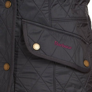 Barbour Gilet-Cavalry Ladies-Navy-LGI1001NY71  logo