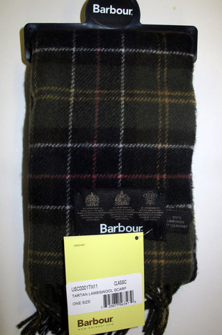 Barbour classic scarf from Smyths