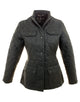 Barbour Utility Quilt Ladies Black Jacket
