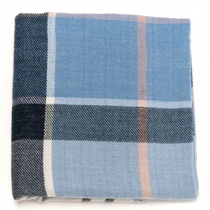 Barbour Freya Wrap-Fade Blue Tartan-LSC0146BL52 colour