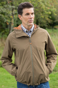 Barbour Irvine mens jacket in Clay MWB0605OL51