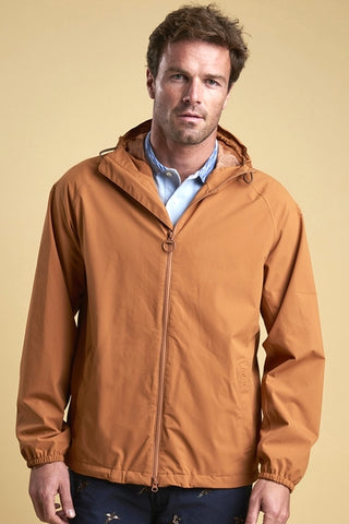 Barbour Irvine mens anorak jacket in Cinder MWB0605OR51