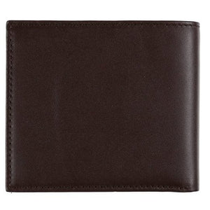 Barbour Wallet-Billfold Coin Wallet-Kirkham-Dark Brown Leather-MAC0318BR911 leather