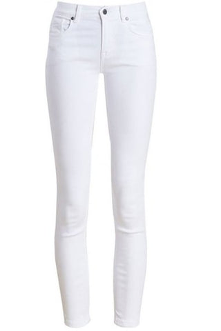 Barbour Trouser Ladies Slim skinny stretch Trouser in White LTR0158WH11