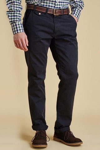 Barbour Chino trousers Neuston Twill in Navy MTR0465NY91